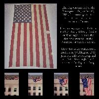 Touching History - The Pentagon Flag