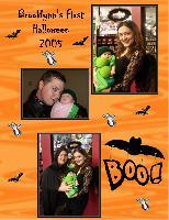 Brooklynn's First Halloween