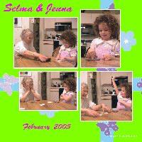 Selma and Jenna