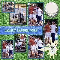 Family Ladder Golf