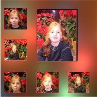 Hannah at Christmas