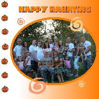 Halloween Freaky Family