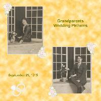 Grandparents Wedding