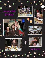 Jenna's 5th Birthday
