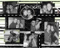 B&W friends