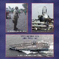 My Brother on Board USS Abraham Lincoln