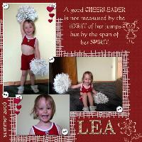 Cheergirl Lea