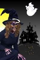 Angel at Halloween
