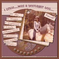 ~I was a teenager too..