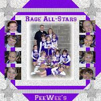 The Lakes Area Rage All-Stars PeeWee Team