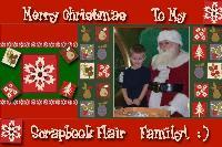Merry Christmas Scrapbook Flair Family