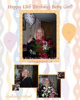Happy 13th Birthday Baby Girl