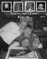 Sierra,Scott,Alyssa & Franklin December 2006