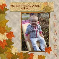 Brooklynn in Autumn