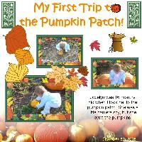 Josie and the Pumpkin Patch 2005