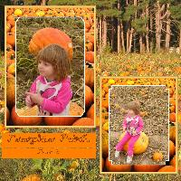 Josie and the Pumpkin Patch 2006