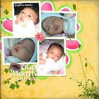 dahlia - 1 month