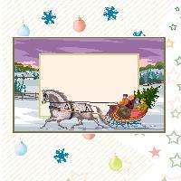 Challenge Pretty Christmas Frames