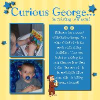 Curious George... is raising our son!