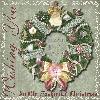 Victorian Wreath Photo Frame