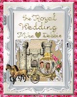 The Royal  Wedding  Album 1 pg 1-4