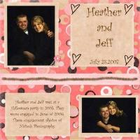 Heather and Jeff