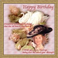 Happy Birthday, Claudia