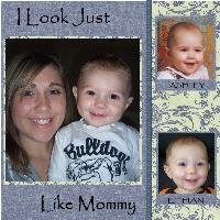 I LOOK JUST LIKE MOMMY