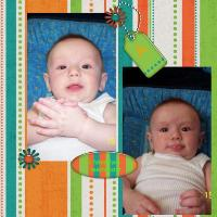 William at 4 months