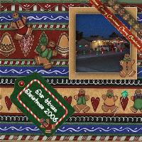 Gingerbread Christmas Digital Scrapbook Kit