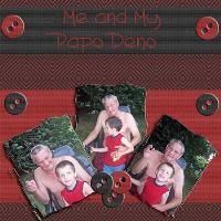 Me and Papo Deno