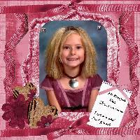 McKenzie 8 yrs old school pic