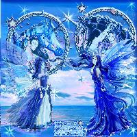 unicorn-gardianangels meeting bleu