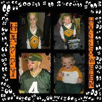 My Family on Halloween