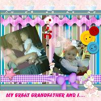 Grandaughter and Great Grandfather
