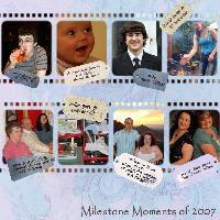 Milestone Moments 2007
