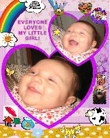 EMILY IS 2 MONTHS OLD!! She always laughs!
