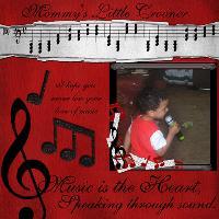 Mommy's Little Crooner