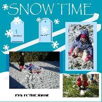 TREVER AND JORDYNN IN SNOW