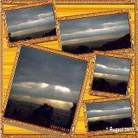 Sunrise over Little Falls