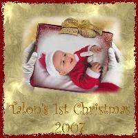 Talon's 1st Christmas