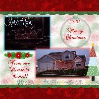 Our House at Christmas
