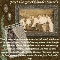 Meet the Brocklebinder Sisters