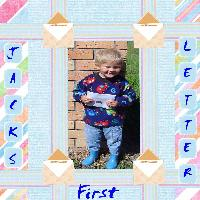 Jack's First Letter