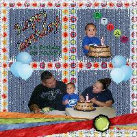Ethan 1st Birthday