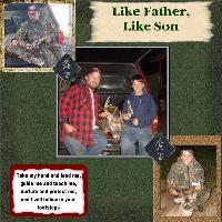 My Boys Hunting Season 2007