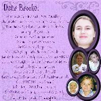Dear Brooke