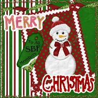 Christmas Card to SBF Friends