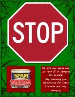 Stop Spamming