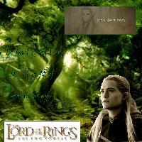 Legolas- Fangorn Forest